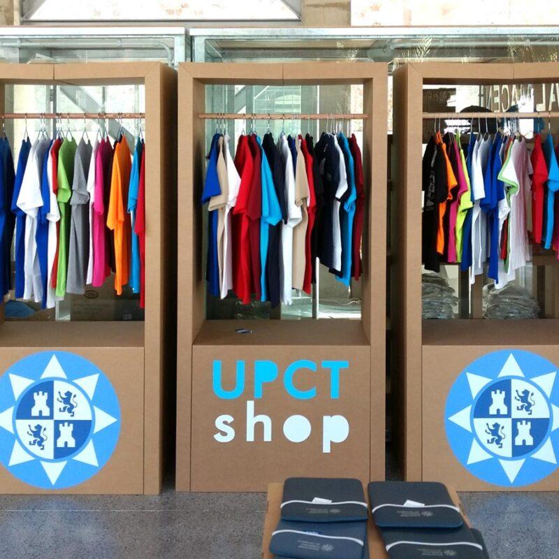 armario perchero pop up shop mobiliario ropa