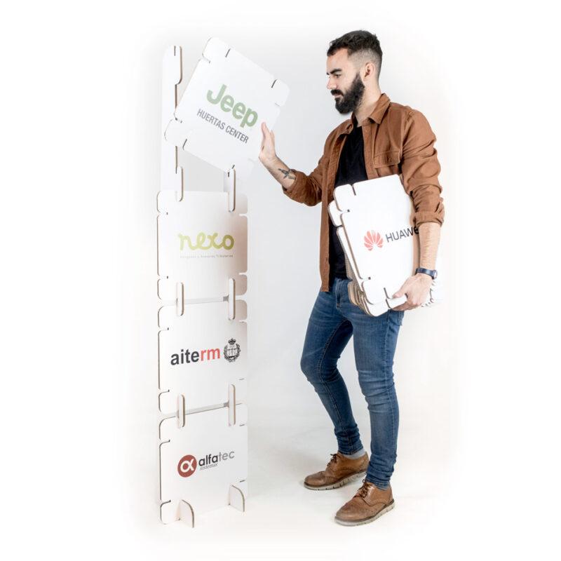 photocall modular de fácil montaje