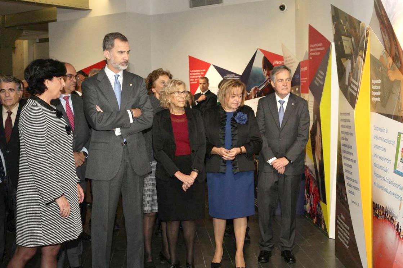 Expo inauguracion uam rey felipe