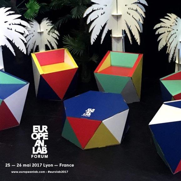 Mesa hexagonal personalizada color