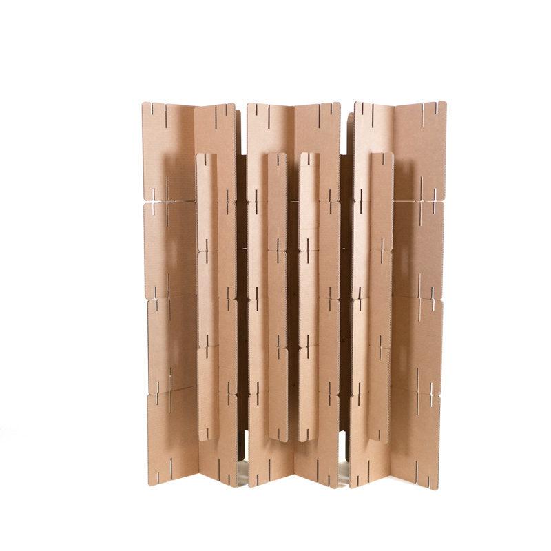 biombo cartón kit cartonlab