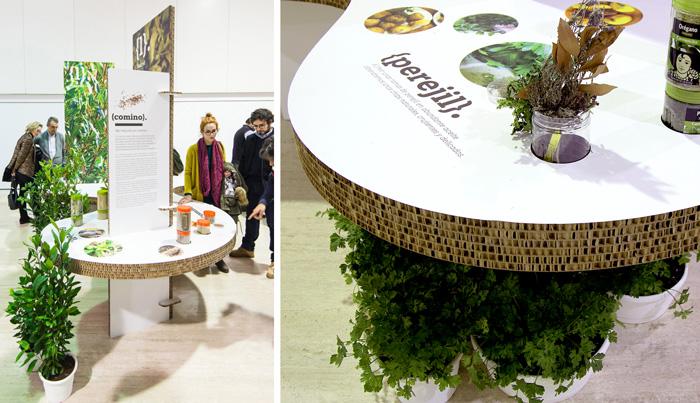 Producción exposiciones especias. Plantas.