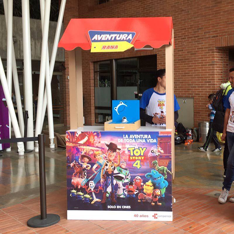 Expositor mostrador candy carton promociones