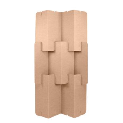biombo plegable carton frontal