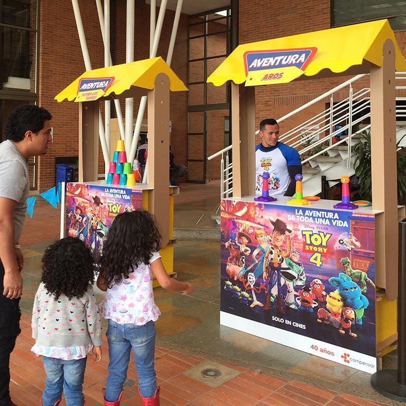 Expositor candy mostrador candy promociones cartonlab
