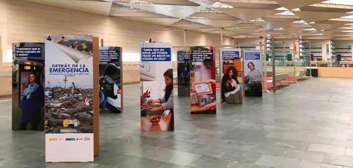 Exposición itinerante de Acción contra el hambre