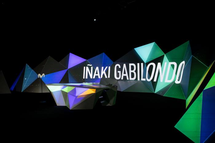 Video Mapping sobre diseño de decorado para televisión