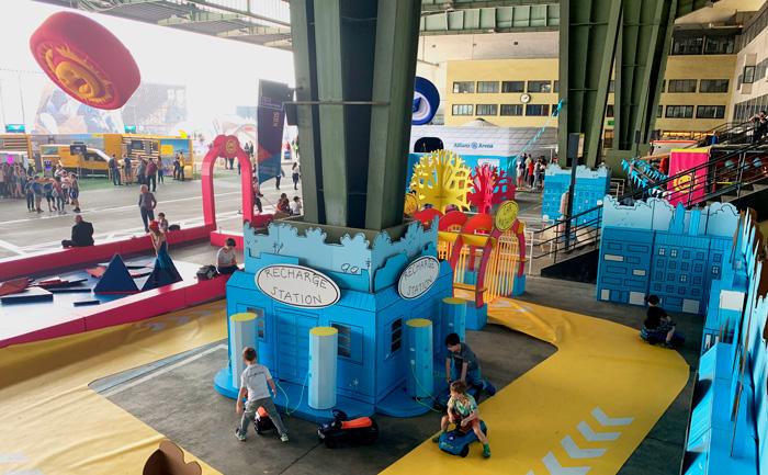 Diseño de eventos sostenibles circuito infantil formula e