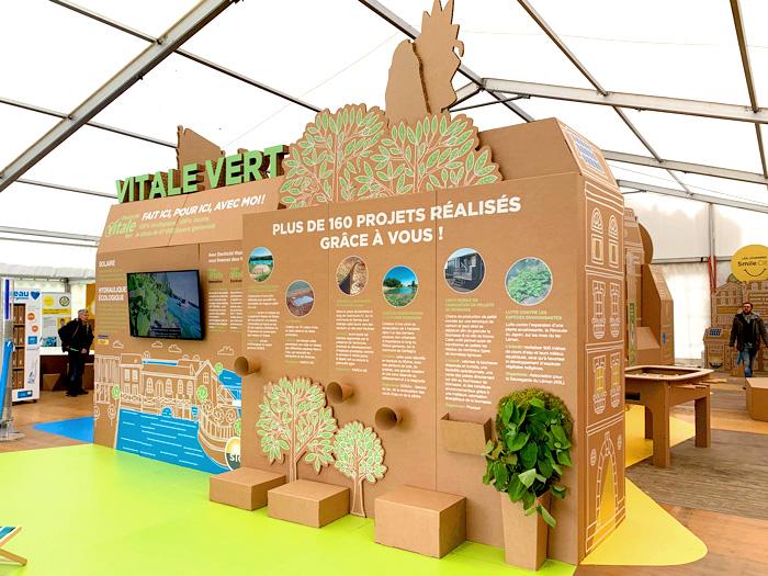 Espacio de fauna y flora en diseño para exposiciones internacionales