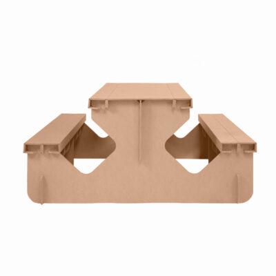 mesa picnic carton frontal