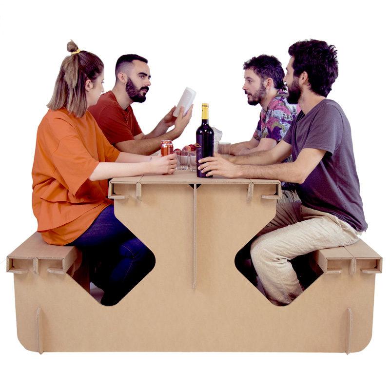 mesa picnic eventos gente