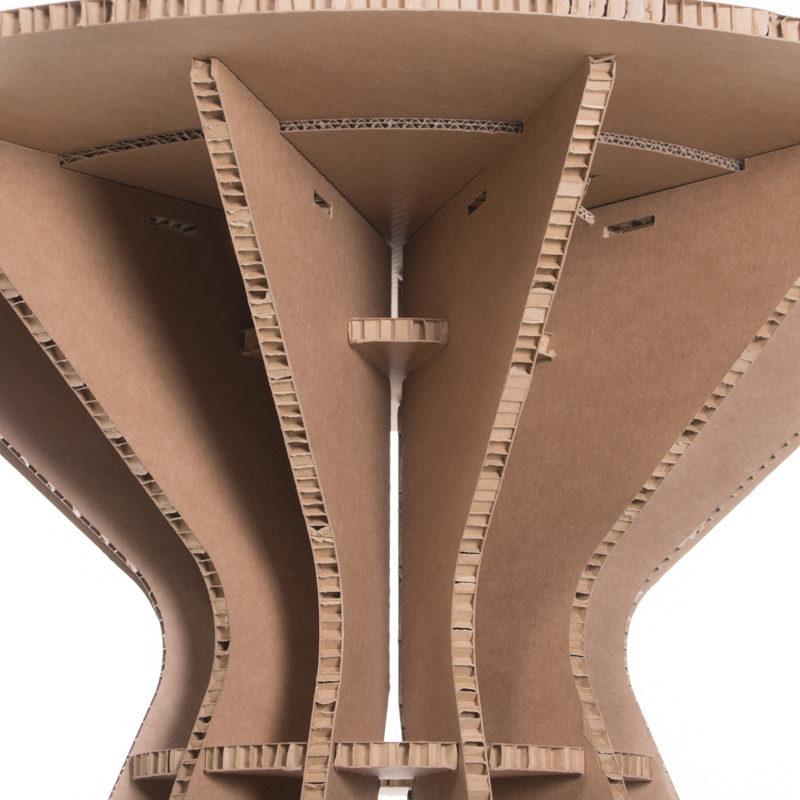 Mesa Brasilia detalle inferior