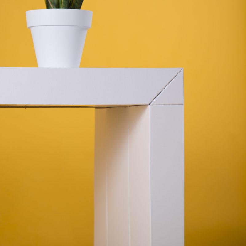 mesa mostrador UP blanca