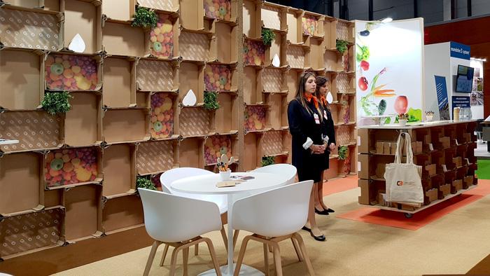 Diseño sostenible en Fruit Attraction de Cartoban