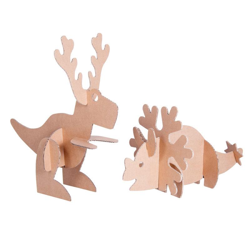 Dinosaurios de Navidad grupo