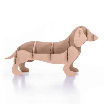 Expositor perrito de sobremesa kraft