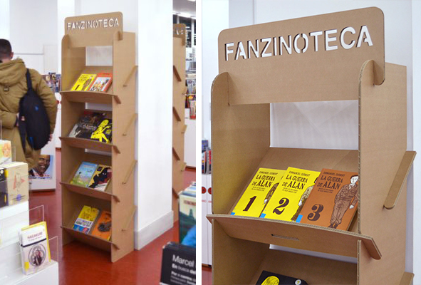 Fanzinoteca de la biblioteca regional de Murcia