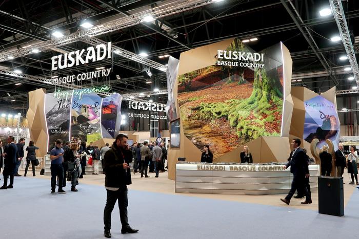 Stands para ferias de turismo. Euskadi en Fitur.
