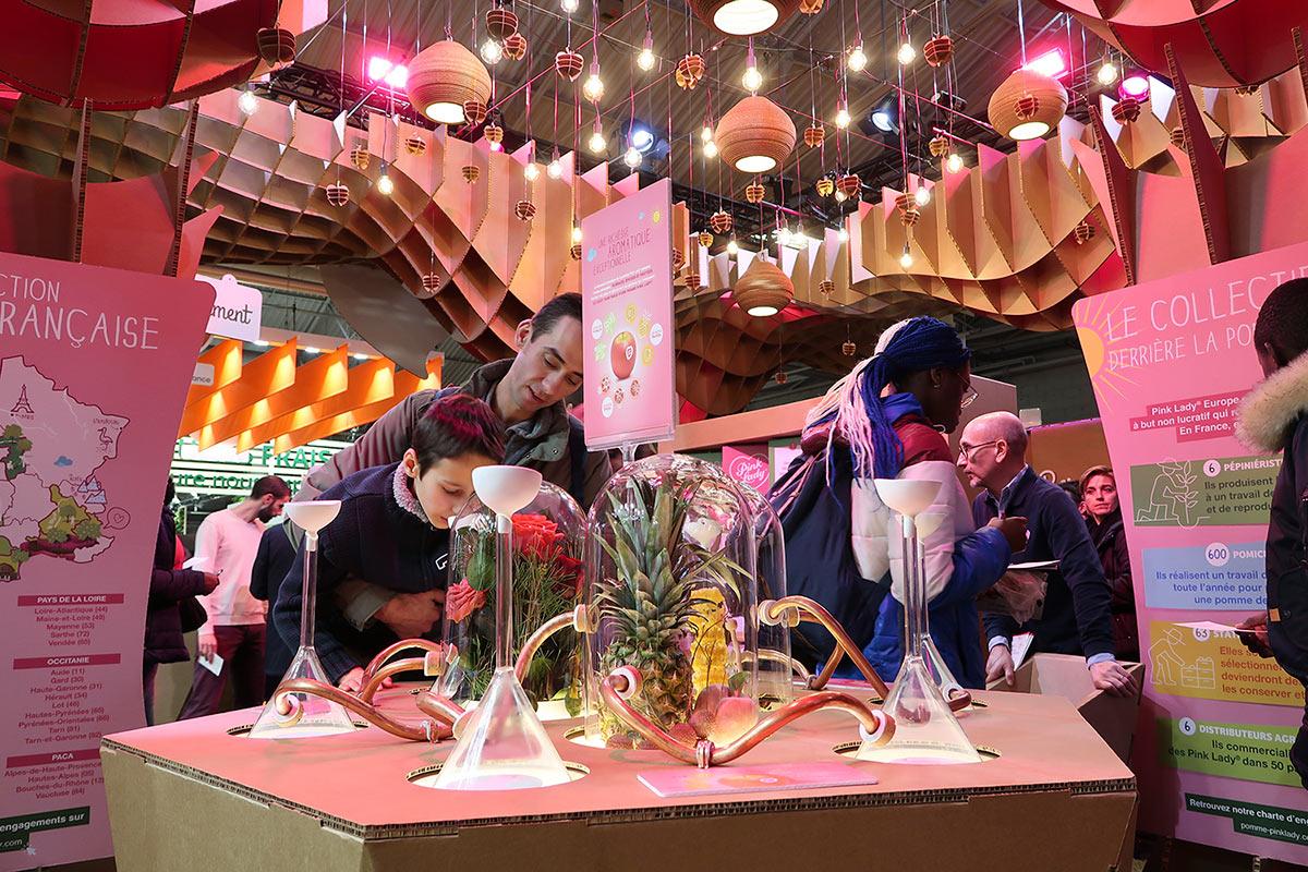 stand cartonlab feria paris pinklady agricultura