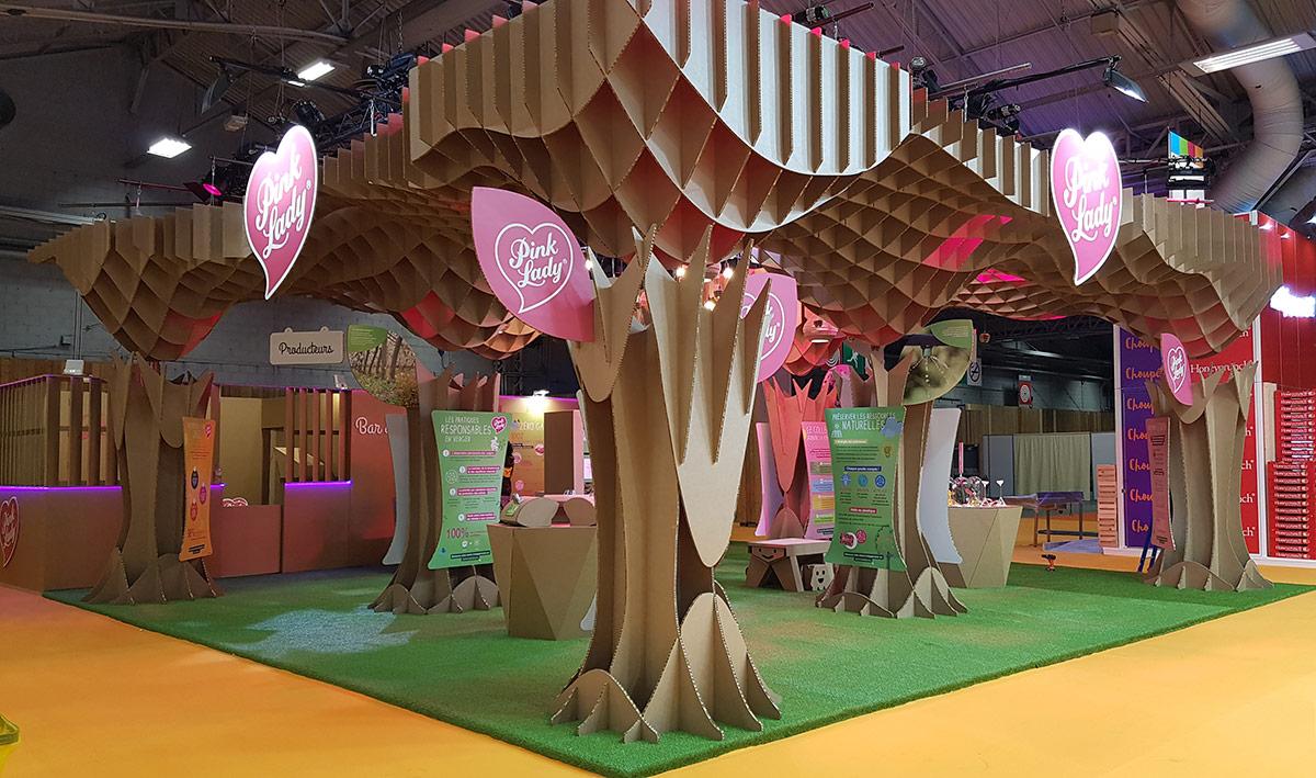 stand pink lady cartonlab salon agricultura paris