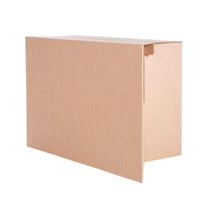 mostrador plegable carton