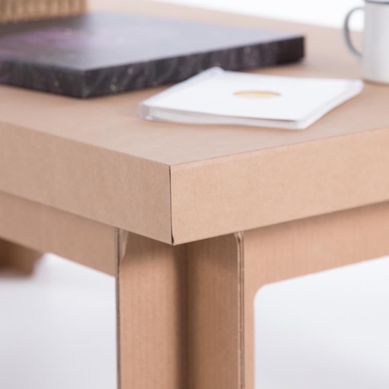 mesa carton baja rectangular