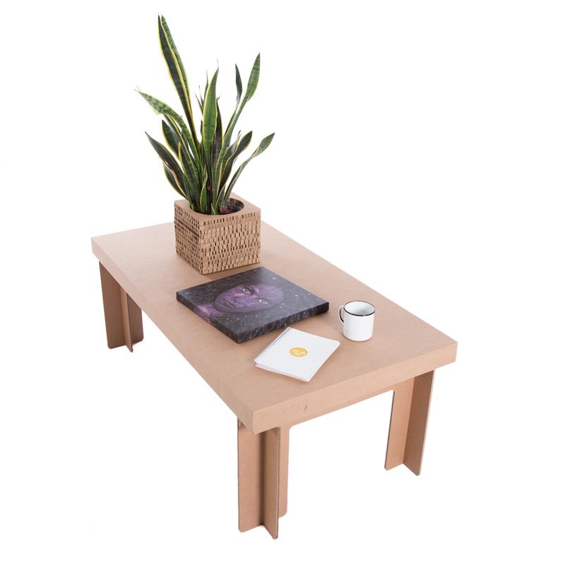 mesa rectangular baja carton