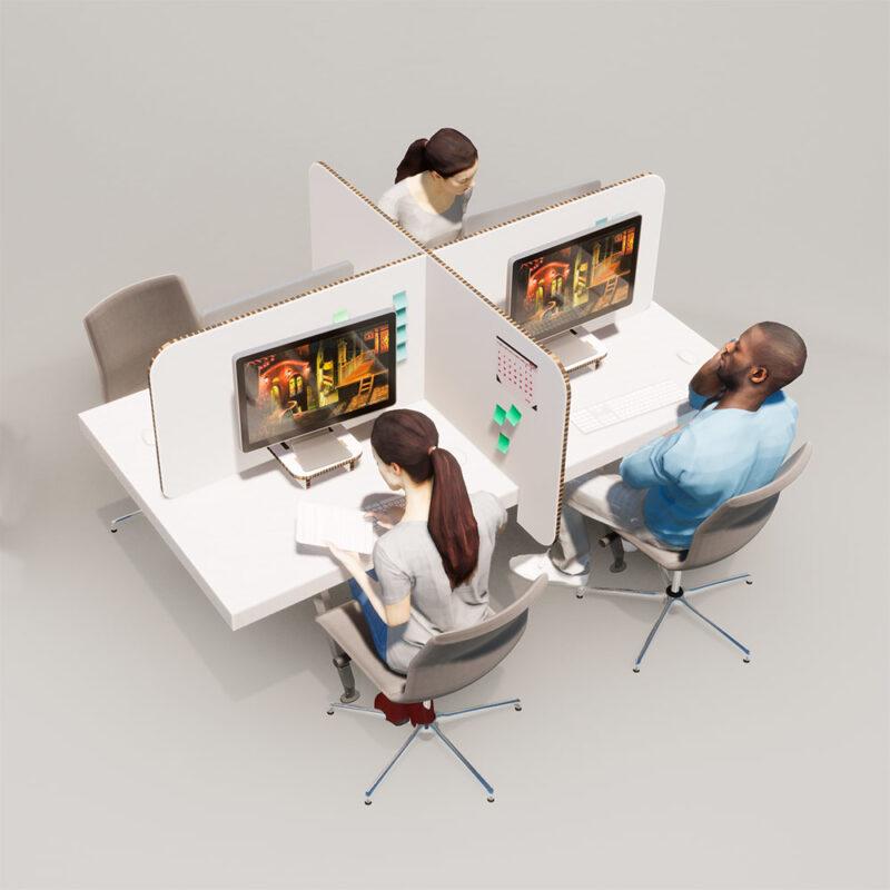 mampara antivirus escritorio 4