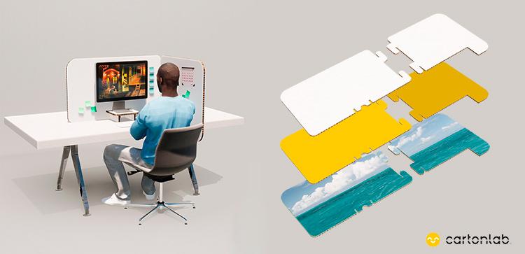 mampara proteccion escritorio personalizada posibilidades