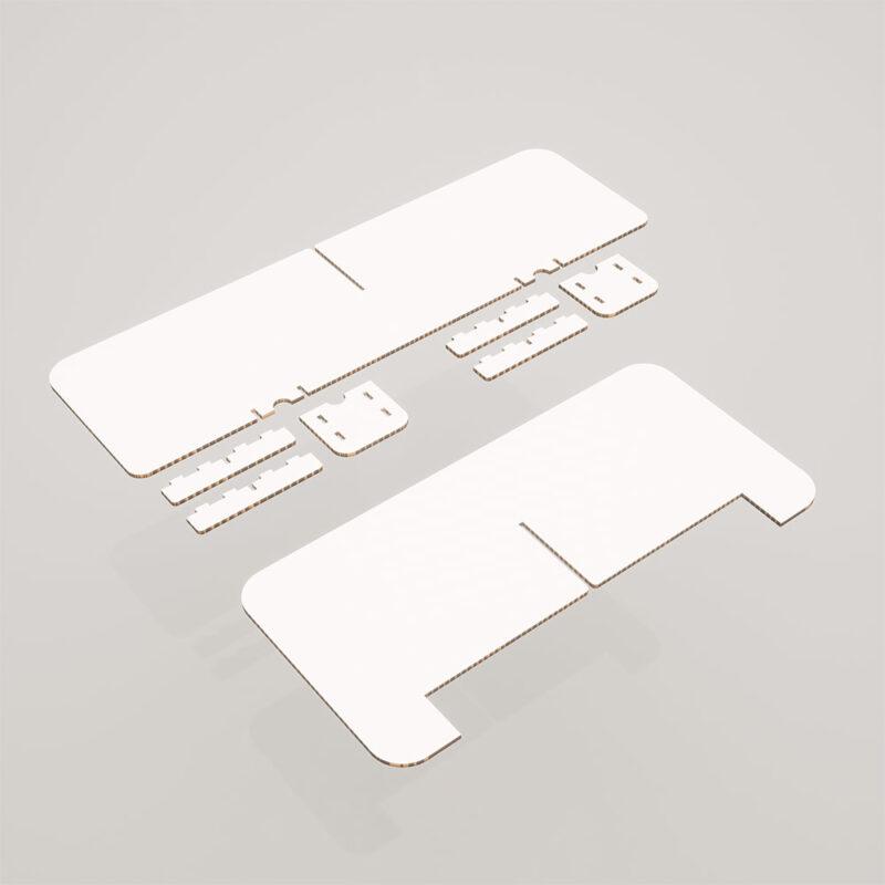 mampara proteccion personalizada piezas