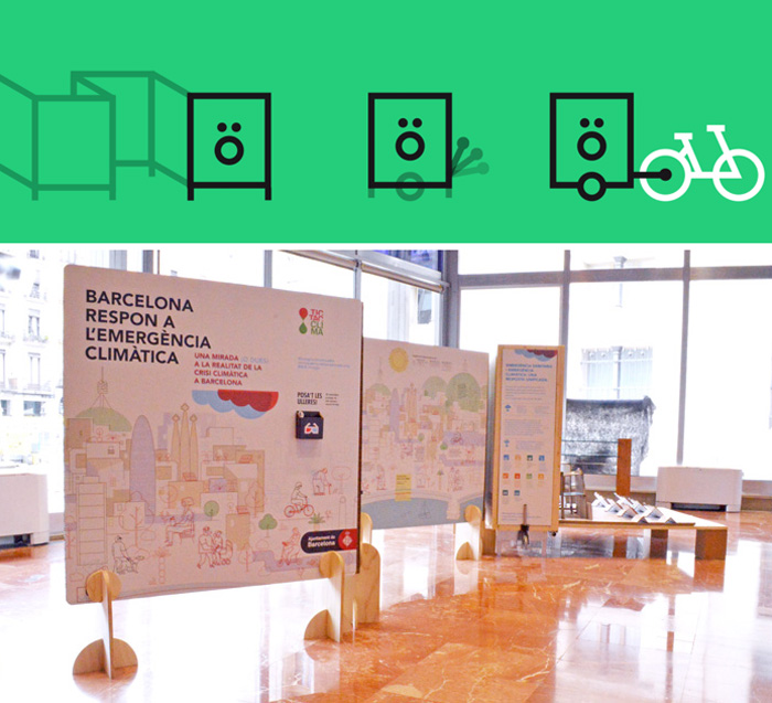 Expobike diseño de exposición itinerante