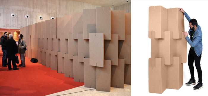 Biombo modular plegable. Ideas separar ambientes.
