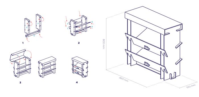 Reshoelute packaging design