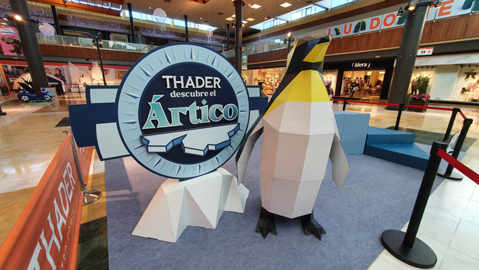 penguin cardboard design christmas decoration