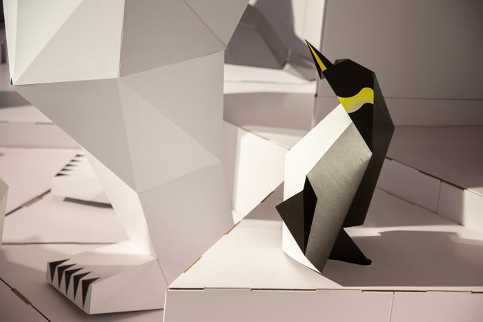 origami penguin .