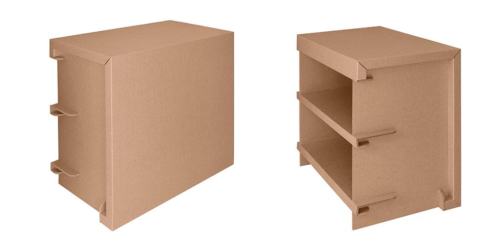 Muebles para tienda ecológica. Almacenaje.