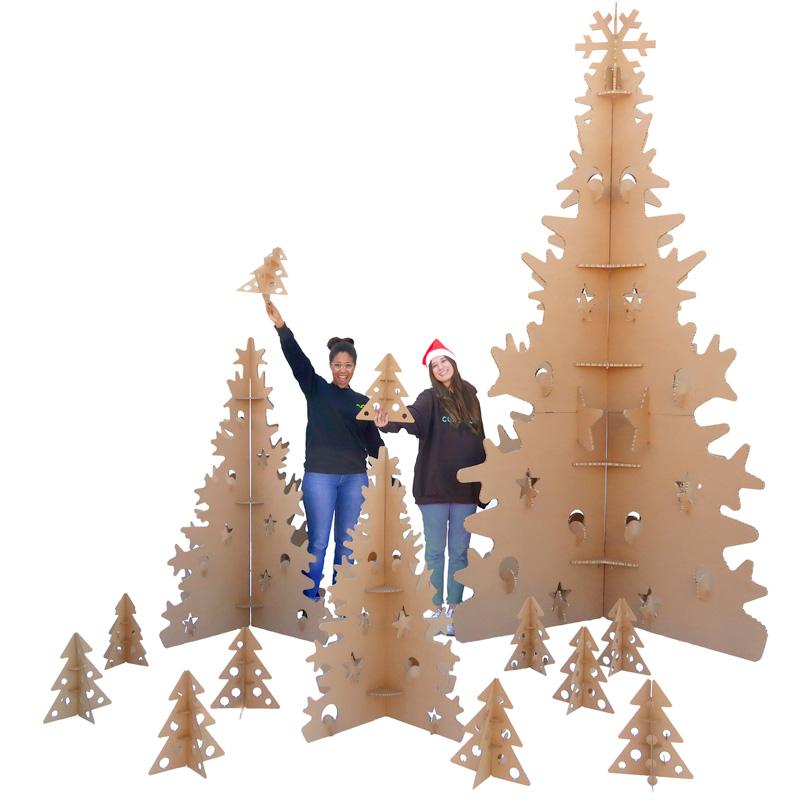Árboles de Navidad ecológicos para centros comerciales