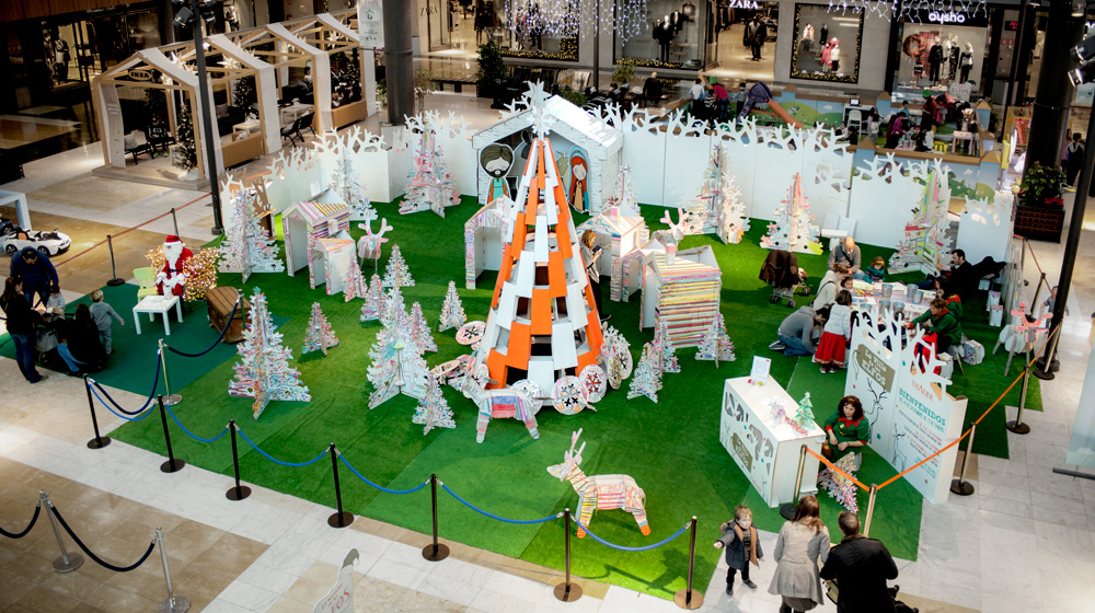 Decoración navideña ecológica personalizada